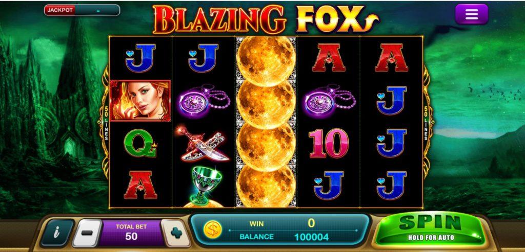 หน้าสล็อต Blazing Fox