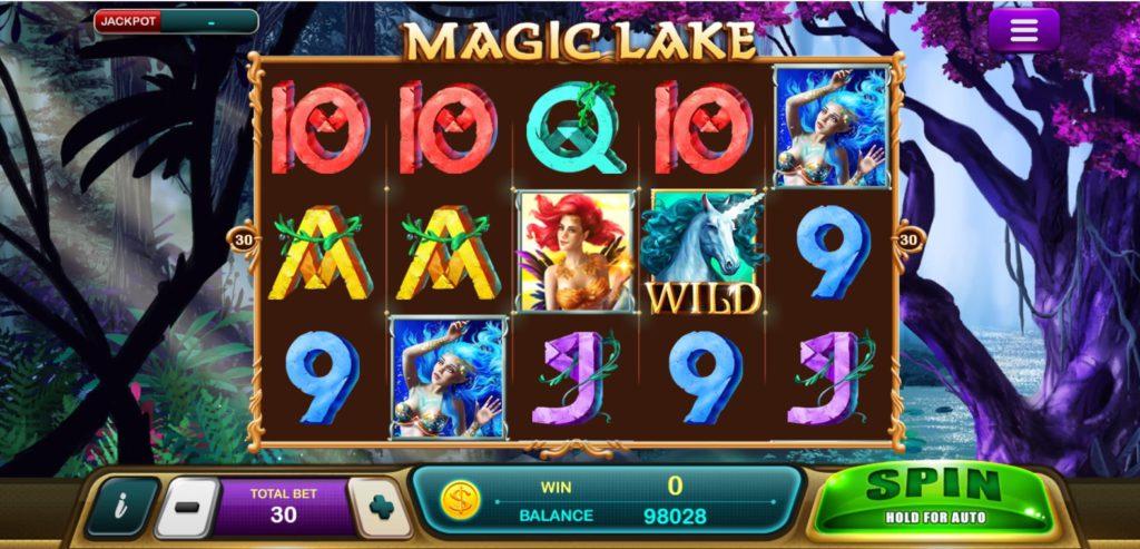 หน้าสล็อต Magic Lake