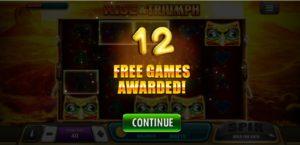 สิทธ์เล่นฟรี 12 เกมของ Rise&Triumph