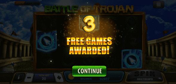 วิธีเล่น Battle Of Trojan Slot