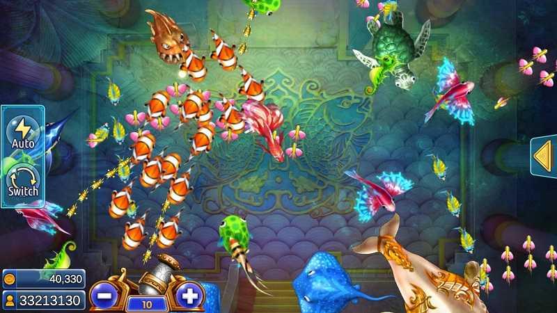 หน้าเกมยิงปลา ocean