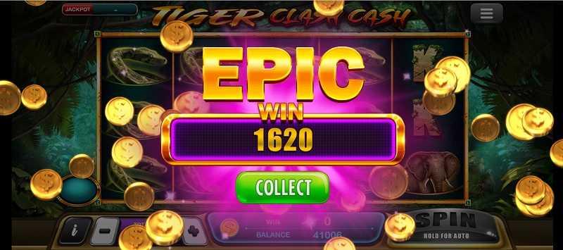 1620 tiger clash cash