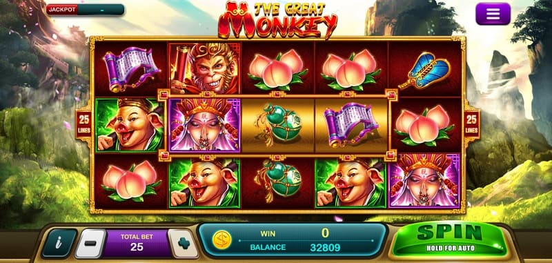 the great monkey epicwin slot
