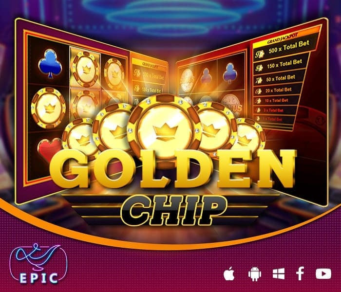 golden chip poster