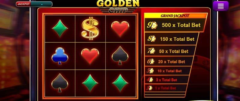 golden chip slot