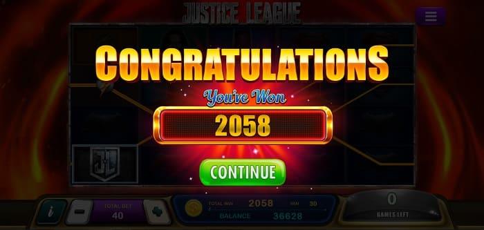 epicwin slot justice league 2058