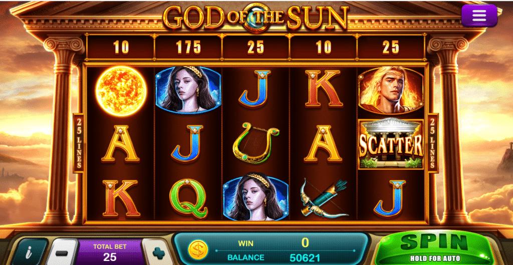 god of sun epicwin